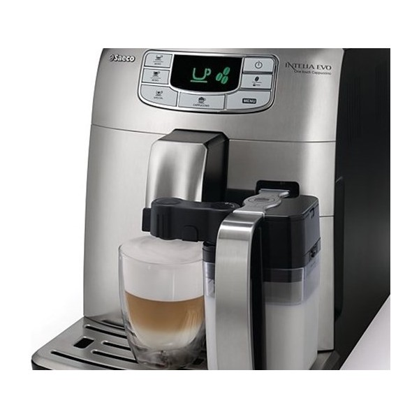 Espressomasin Saeco INTELIA Evo CAPPUCCINO, HÕBE