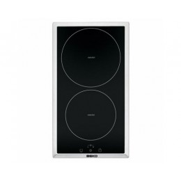 Induction hob Beko, domino, inox frame
