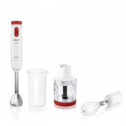 Philips Daily Collection HR1625 00 Immersion blender Red,White 0.5L 650W blender