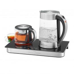 Veekeetja teekannu ja kuumutusplaadiga ProfiCook PCTKS1056