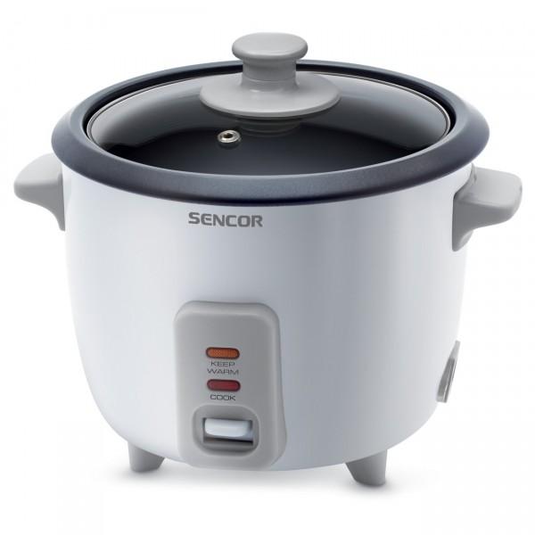 Riisikeetja+aurutaja Sencor SRM0600WH