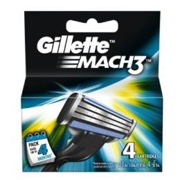 Gillette Mach 3 žiletiterad 20 tk. karbis