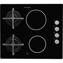 Electrolux EGE6172NOK built-in Combi Black hob