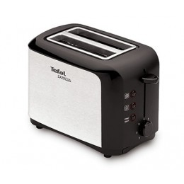 Tefal TT356110 2slice(s) 850W Black,Stainless steel toaster