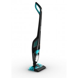 Philips PowerPro Aqua FC6401 01 Bagless Black,Turquoise stick vacuum electric broom