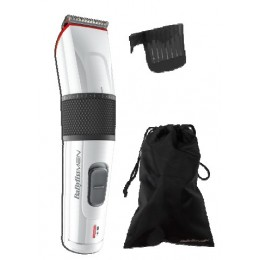BaByliss E970E Wet & Dry Black,Red,White beard trimmer