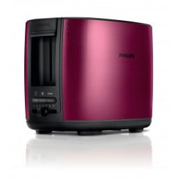 Philips HD2628/00 2slice(s) 950W Black,Burgundy toaster