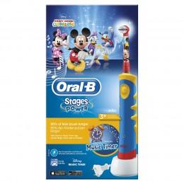 Oral-B Kids Mickey Mouse Ребенок Колебательно-вращательная зубная щетка Разноцветный