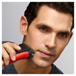 Braun Series 3 3030s Сеточная бритва Триммер Черный, Красный бритва для мужчин
