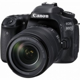 CANON EOS-80D IS USM 18-135 kit Black