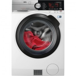 AEG L9WBC61B Freestanding Front-load A White washer dryer