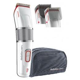BaByliss E971E Wet & Dry Red,Silver,White beard trimmer