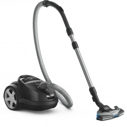 Philips FC8682/09 Cylinder vacuum 4L 650W A+ Black, Silver vacuum