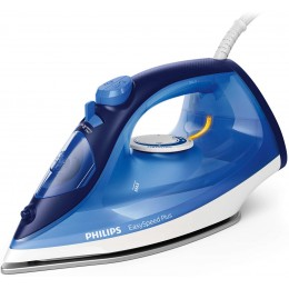 Philips EasySpeed GC2145 20 Steam iron Ceramic soleplate 2100W Blue, White iron