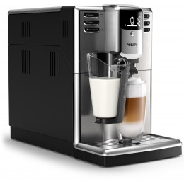 Philips 5000 series EP5335/10 coffee maker Freestanding Espresso machine Black 1.8 L Fully-auto