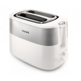 Philips Daily Collection HD2516 00 toaster 2 slice(s) White 830 W