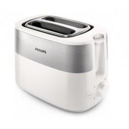 Philips Daily Collection HD2516 00 тостер 2 ломтик(а) Белый 830 Вт
