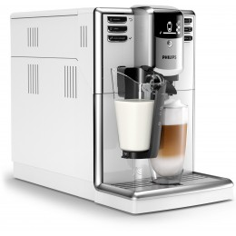 Philips 5000 series EP5331 10 coffee maker Freestanding Espresso machine White 1.8 L Fully-auto