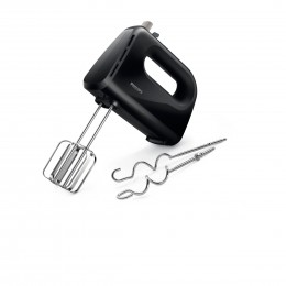 Philips Daily Collection HR3705/10 mixer Hand mixer Black 300 W