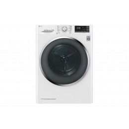 LG RC90U2AV2W tumble dryer Freestanding Front-load White 9 kg A+++-10%