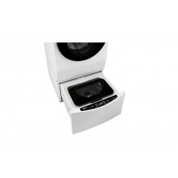 LG TWINWash Mini стиральная машина Пьедестал Вертикальная загрузка Белый 2 кг