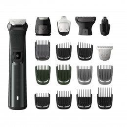 Philips MULTIGROOM Series 7000 MG7785 20 hair trimmers clipper Black Rechargeable