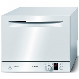 Compact dishwasher Bosch, white, SKS62E22EU