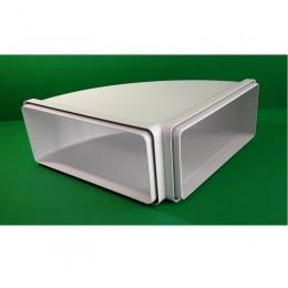 Õhupuhastaja ühendus horisontaalne ristkülik 90° 220x90 mm Faber