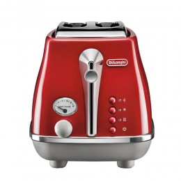 Toaster Delonghi ICONA Capitals, red, CTOC2103R
