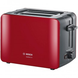 Toaster Bosch, red, TAT6A114