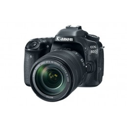 Canon EOS-80D EF-S 18-55mm IS STM