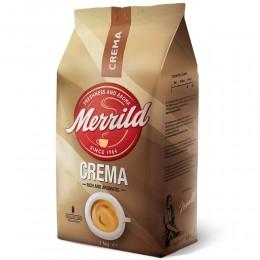 Coffee beans Merrild, Crema 1kg, 8000070022904