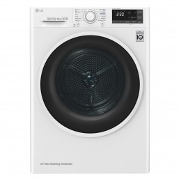 LG RC80U2AV4Q tumble dryer Freestanding Front-load White 8 kg A+++