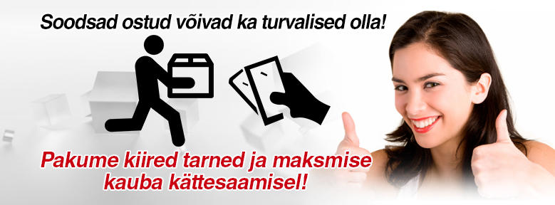 Maksta kättesaamisel multikeetja.ee e-poes!